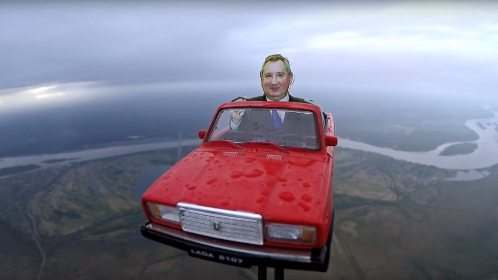 Ruski model automobila satelita 2019.