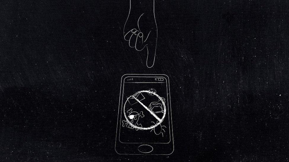 ilustracija mobilnog telefona