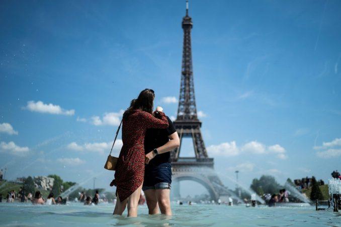 Vremenska prognoza u fotografijama: Evropa očajnički beži od vrućine 4
