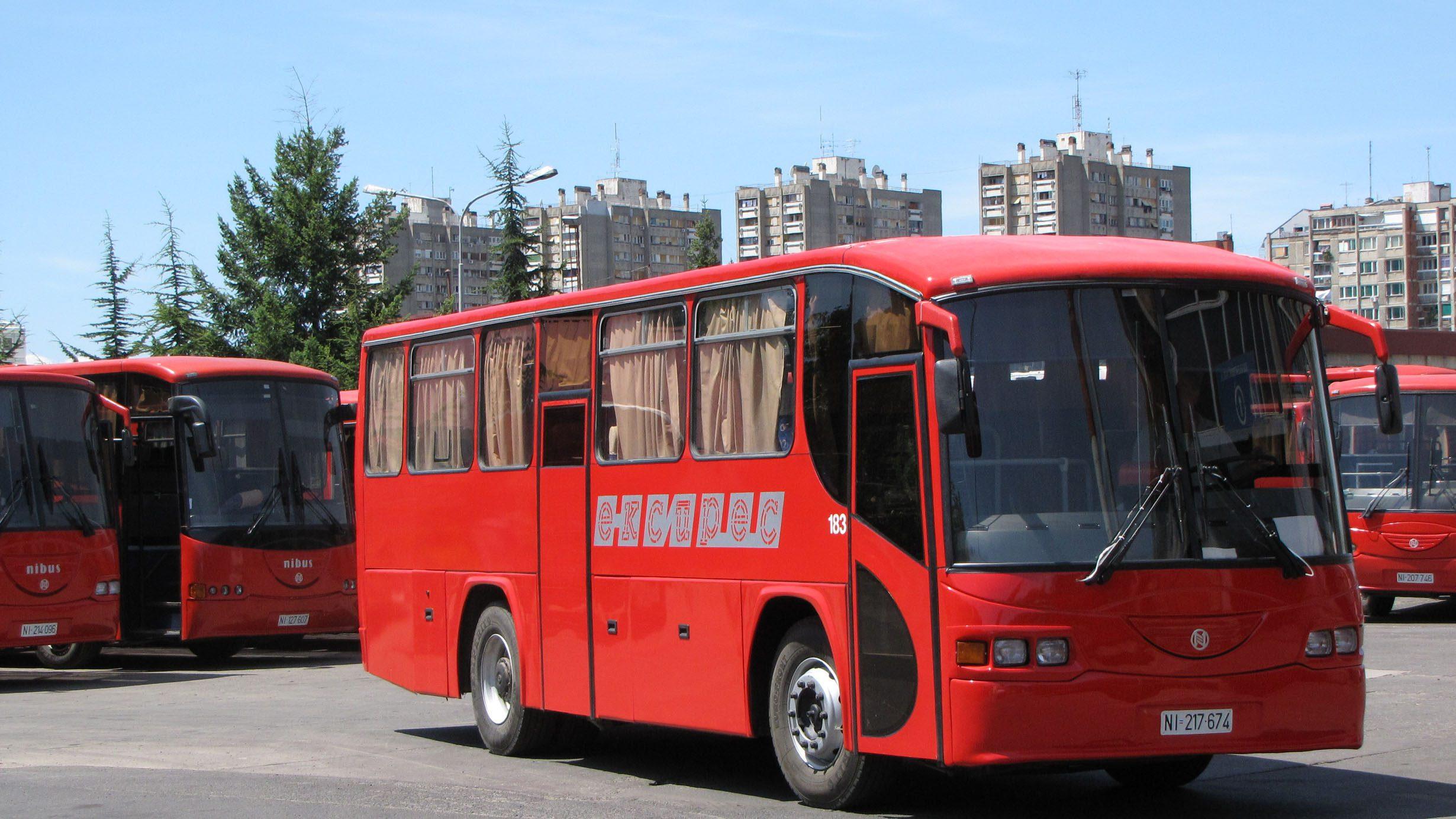 Od ponedeljka ponovo autobuski saobraćaj od Niša ka drugim gradovima 1