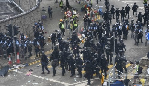 Demonstranti u Hongkongu traže od kineskih trgovaca da napuste teritoriju 9