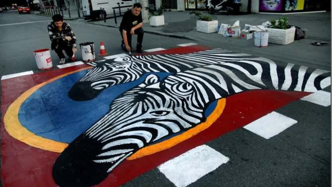 Upoznajmo zebru u Zemunu 1