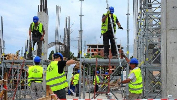 Rast vrednosti izvedenih građevinskih radova u Srbiji 20 odsto u prvom kvartalu 4