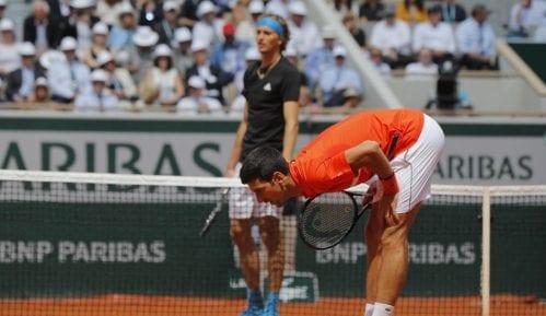 Novak Đoković deklasirao Aleksandra Zvereva u četvrtfinalu Rolan Garosa 10
