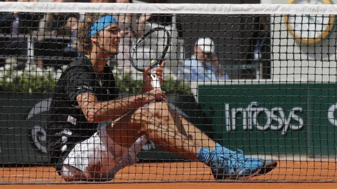 Prvo grend slem polufinale za Zvereva na Australijan openu 1