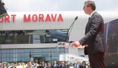 Vučić: Jutka može da bude predsednik Brusa, ali bez SNS 2