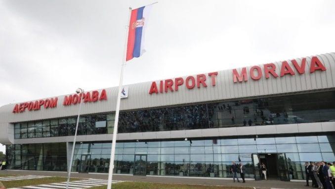 """Prvi letovi sa """"Morave"""" u decembru 3"""