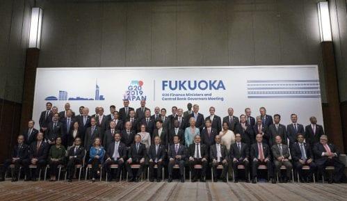 Ministri G 20 obećali dodatne napore u zaštiti globalnog rasta 8