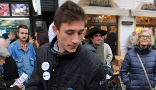 """Organizatori protesta i članovi """"1 od 5miliona"""" 11. juna na protestu """"Studenti ne ćute"""" 4"""