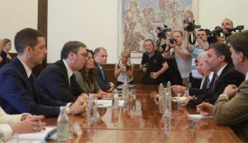 Vučić i Palmer o odnosima Srbije i SAD 14