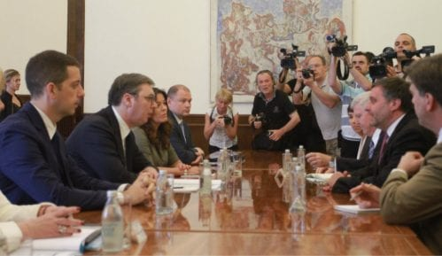 Vučić i Palmer razgovaraju tokom Generalne skupštine UN 9