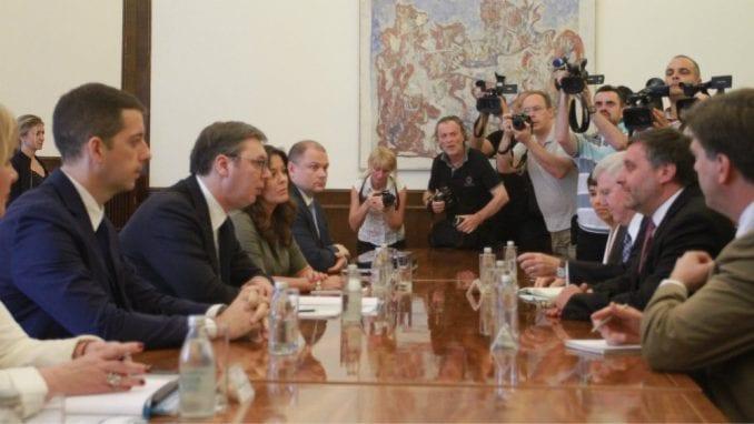Vučić i Palmer o odnosima Srbije i SAD 1