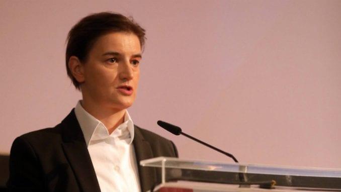 Brnabić: Saradnja sa OEBS nije ustupak ni opoziciji ni međunarodnoj zajednici 1