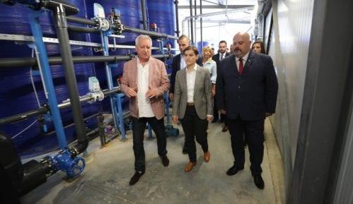 Brnabić do 10. jula očekuje da u Zrenjaninu poteče voda iz novog postrojenja 4