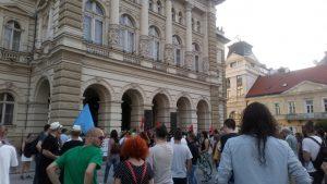 Protest u NS: Ako studenti nisu slobodni, niko nije slobodan 3
