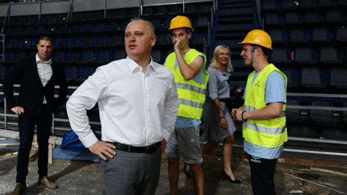 Vesić: Tri beogradske hale u pripremi za privremene bolnice 1