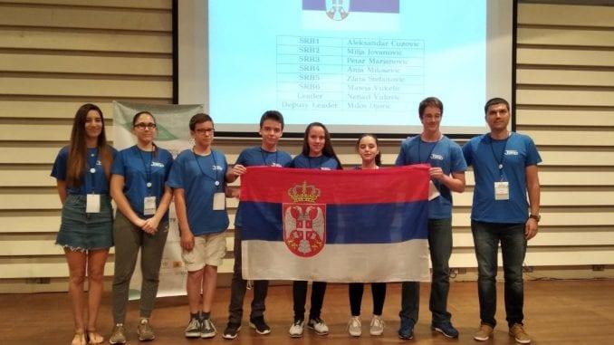 Šest medalja za učenike Matematičke gimnazije 1