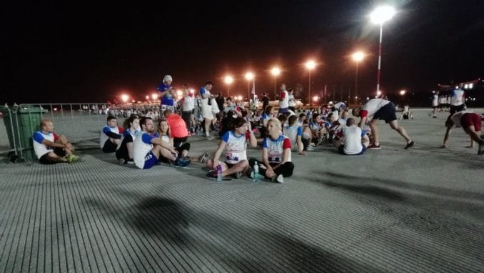 Održana noćna trka na Aerodromu Nikola Tesla (FOTO) 1