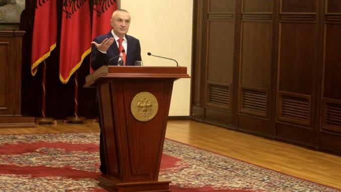 Počela procedura za opoziv predsednika Albanije Iljira Mete 2