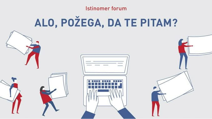 Istinomer forum u Požegi 1