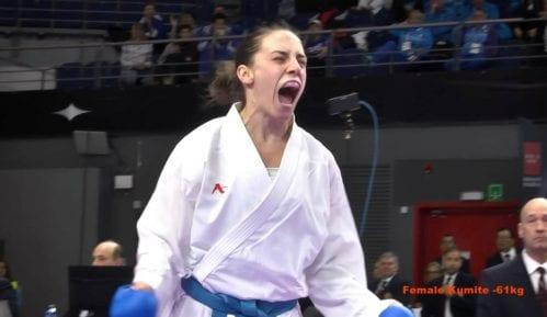 Jovana Preković osvojila srebrnu medalju u karateu 6