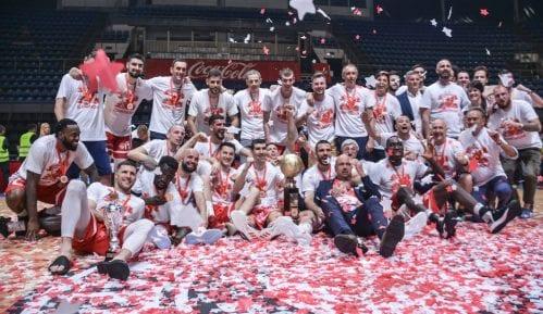 Crvena zvezda šampion Srbije u košarci 13