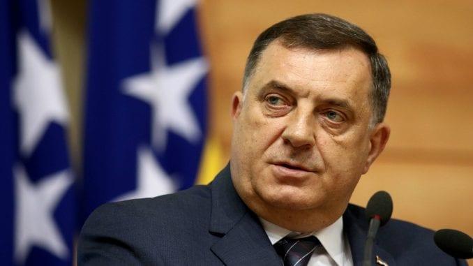 Dodik: Komšićev lični stav o Strategiji odbrane Srbije 1