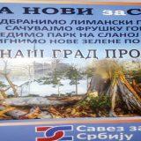 Novi Sad: SZS protiv izgradnje u Limanskom parku 1