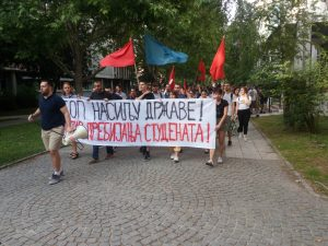 Protest u NS: Ako studenti nisu slobodni, niko nije slobodan 2