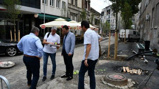 Stojčić: Rekonstrukcija Simine ulice u završnoj fazi 2