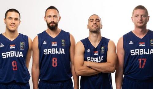 Reprezentacija Srbije u basketu tri na tri u polufinalu SP u Amsterdamu 2