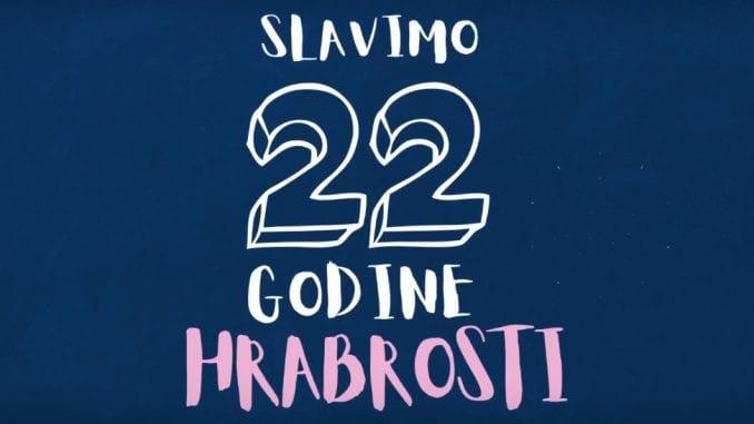 Oni danas, kao i Danas, slave 22. rođendan 1