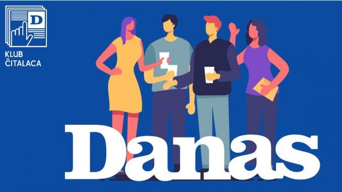Klub čitalaca Danasa: Popust od 20 odsto tokom cele 2020. godine 2