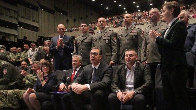 Vučić: U Srbiji su se 15-20 godina stideli naših junaka ne bi li se održali na vlasti 1