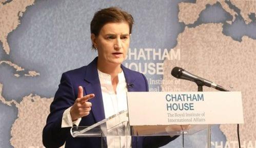 Brnabić u Londonu: Srbija pripada EU, nemamo plan B 14
