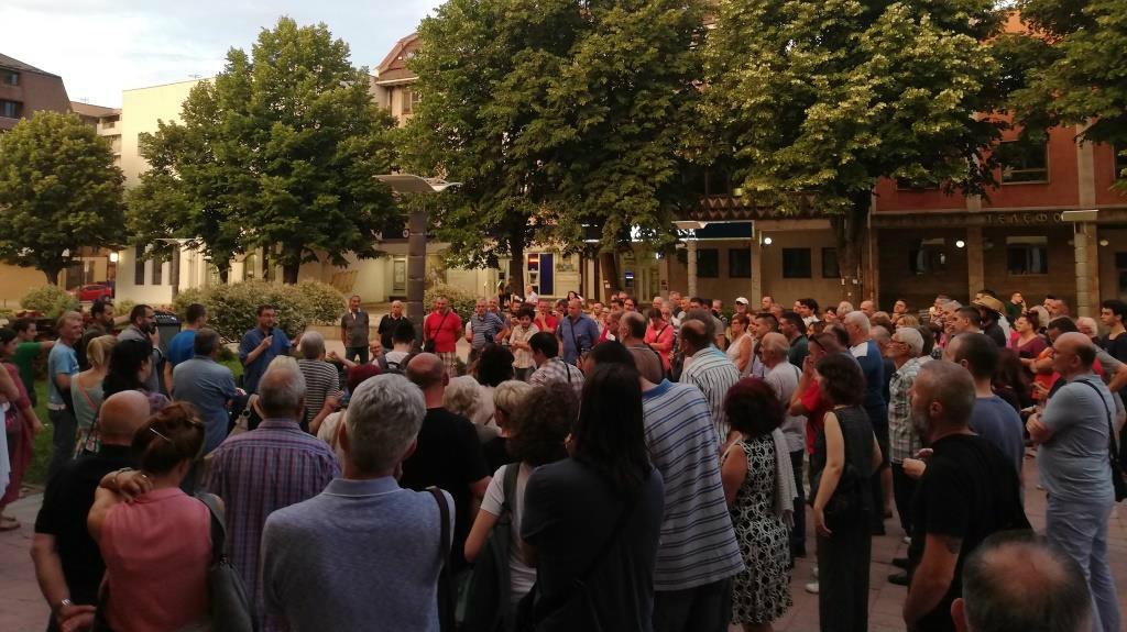 Kraljevo: Tribina Lokalnog fronta održana na gradskom trgu 2