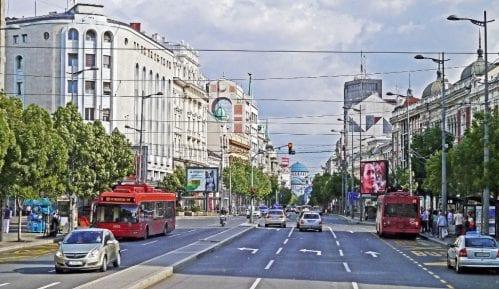 Zbog posete Makrona sutra izmenjen saobraćaj u pojednim delovima Beograda 2