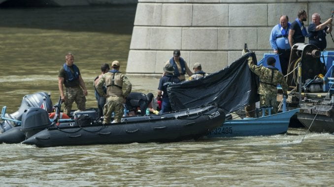 Pronađena tela desete i jedanaeste žrtve brodoloma u Budimpešti 1