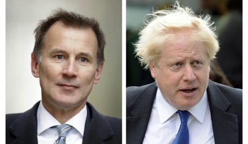 Džonson i Hant jedini kandidati za lidera britanskih konzervativaca i vlade 7