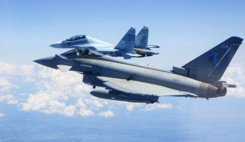 Britanski avioni dva puta presreli ruske avione kod Estonije 13