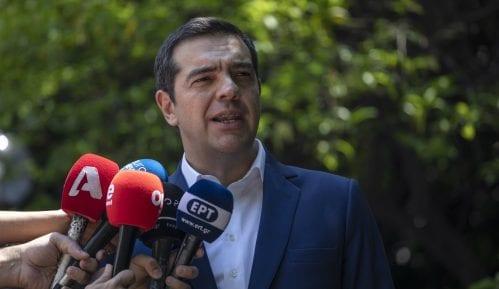 Izvinjenje javnog TV-servisa Grčke zbog prenosa stranačkog govora premijera 9