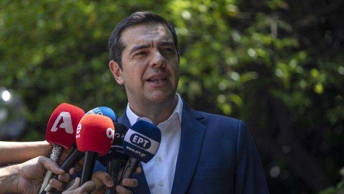 Izvinjenje javnog TV-servisa Grčke zbog prenosa stranačkog govora premijera 1