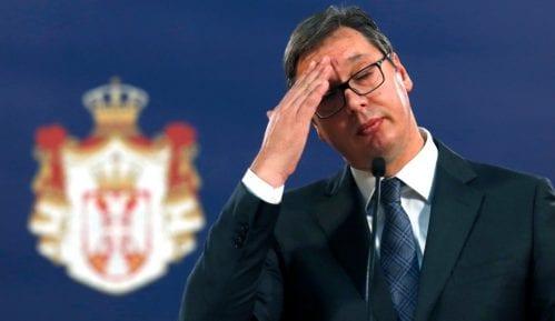 Vučić povodom naslovne strane Danasa: Samo vi radite svoj posao 5