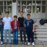 Druga nagrada na matermatičkkom turniru za gimnazijalce iz Pirota 4