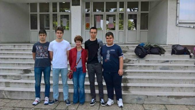 Druga nagrada na matermatičkkom turniru za gimnazijalce iz Pirota 2