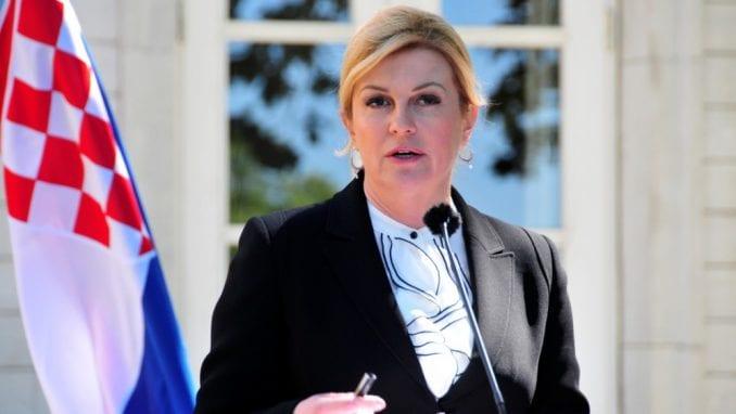 Grabar-Kitarović pozvala Srbiju da učini iskorak u otkrivanju istine o nestalima 1