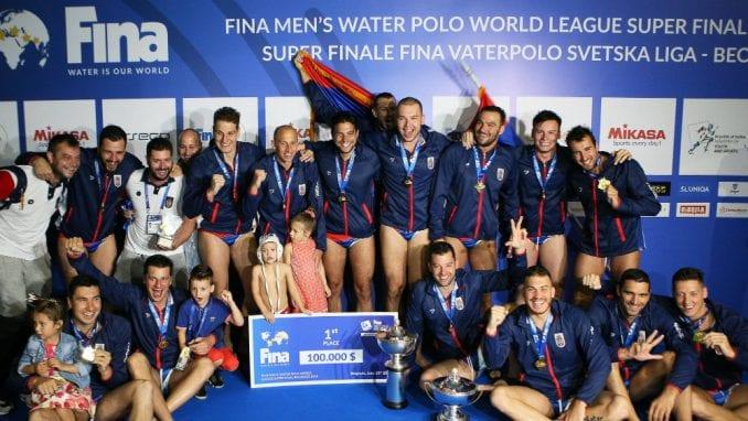Vaterpolisti Srbije osvojili Svetsku ligu i plasirali se na Olimpijske igre 1