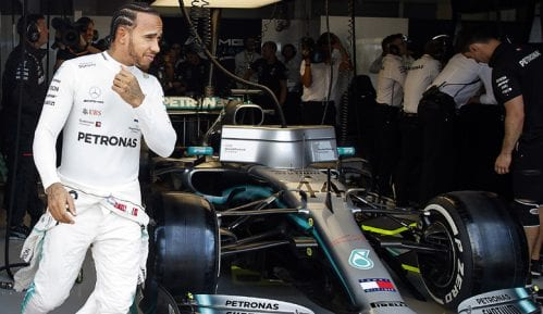 Hamilton najbrži na prvom treningu u Francuskoj 15