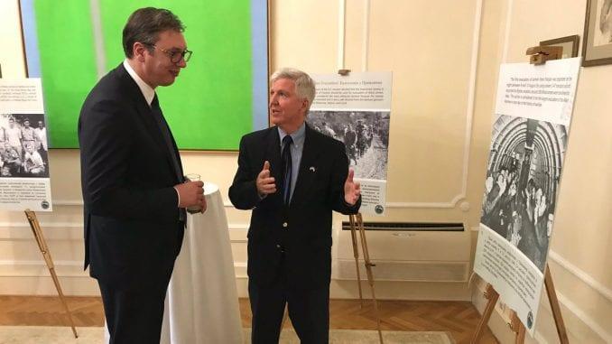 """U Ambasadi Amerike odata počast Srbima i Amerikancima iz """"Hilijard misije"""" 4"""