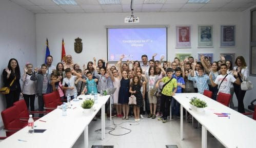 Osnovci iz Vranja posetili Kancelariju za IT i elektronsku upravu 5